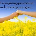 #67 Radost davanja